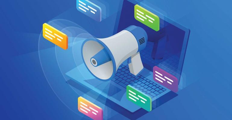 marketing website laptop