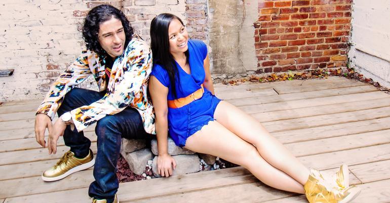 MC Dyalekt and Pamela Capalad