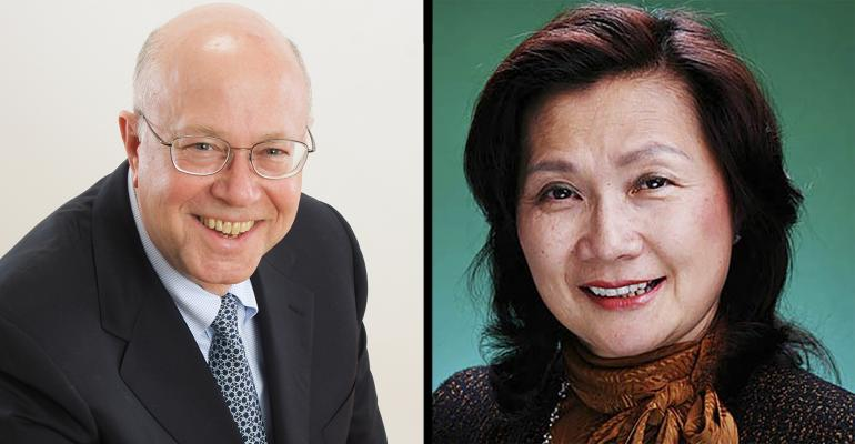 Pillar Pacific founder Arthur French and CEO Mindy Ying