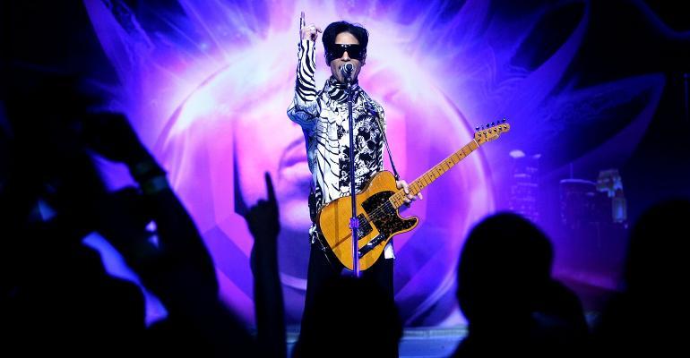 Prince concert