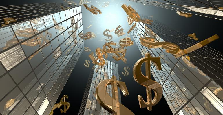 skyscrapers money