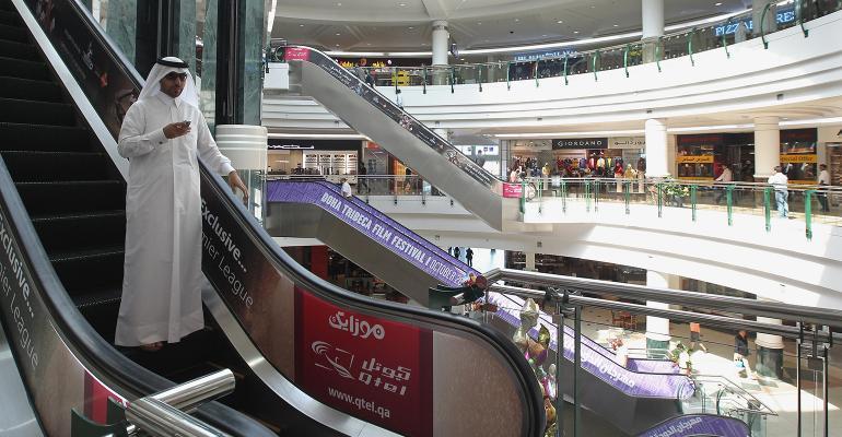 Qatar shopping mall