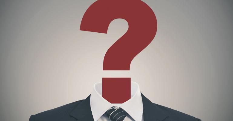 question mark suit