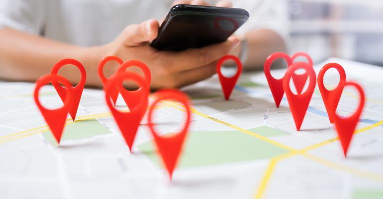 map locators