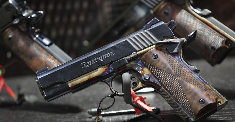 Remington gun