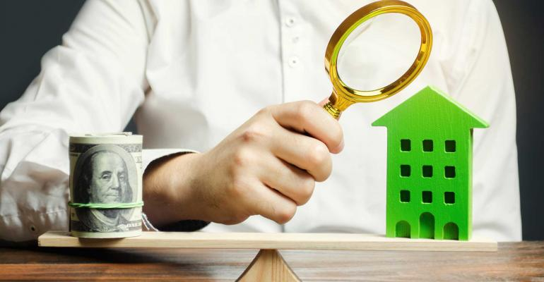 apartment scale magnifying glass
