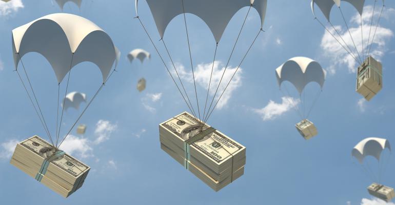parachute money