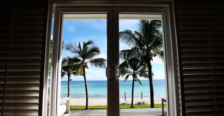 beach resort view