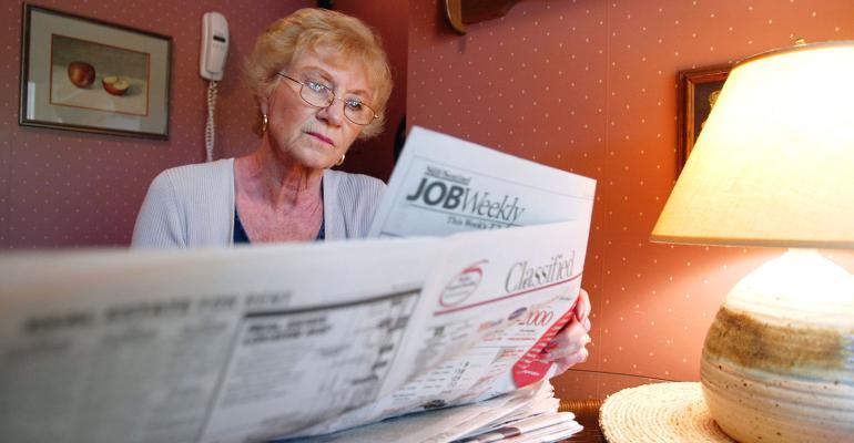 retiree job hunting