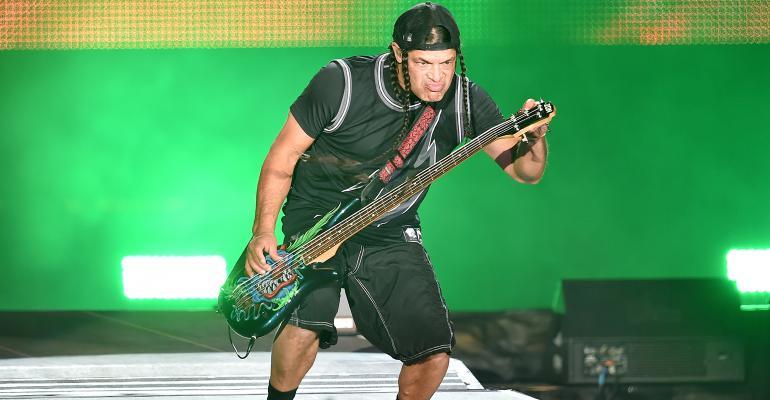 Robert Trujillio Metallica