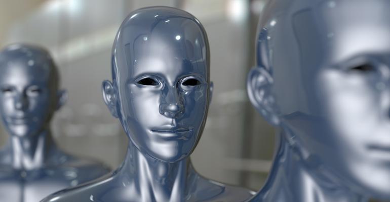robot machine AI