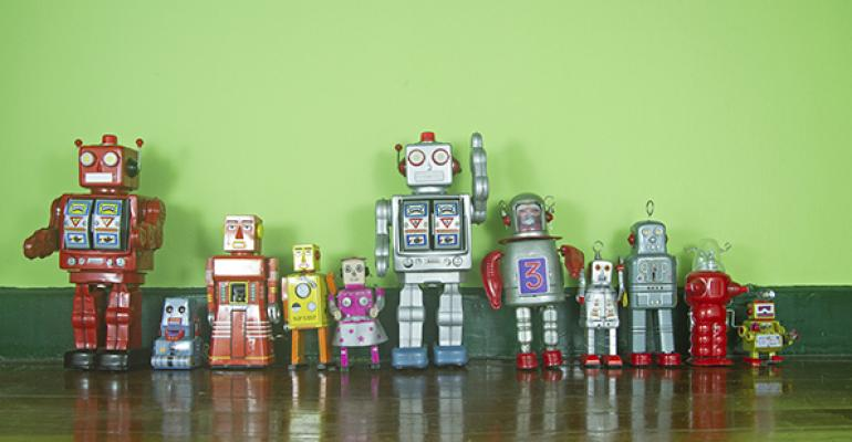 robots lined up