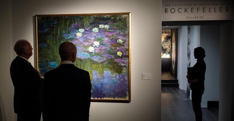 Rockefeller auction