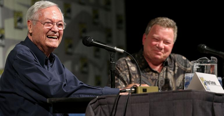 Roger Corman and William Shatner
