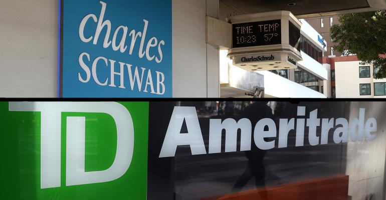 Schwabitrade TD Ameritrade Charles Schwab