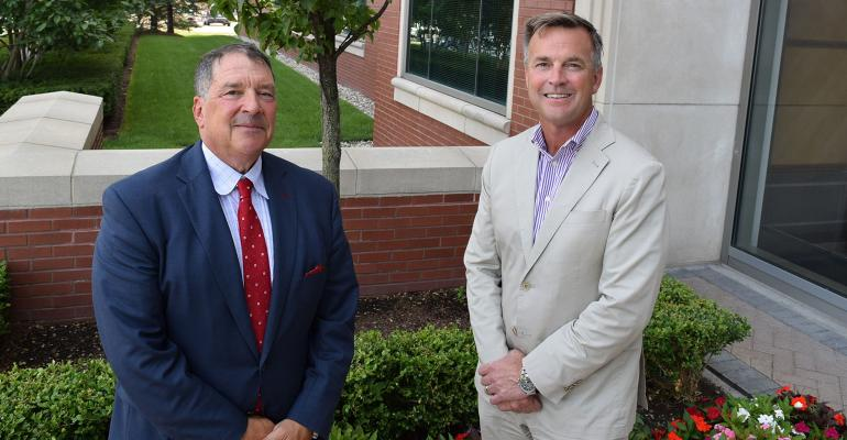 LJPR Financial Advisors CEO Leon LeBrecque (left) and Sequoia Financial Group President Tom Haught