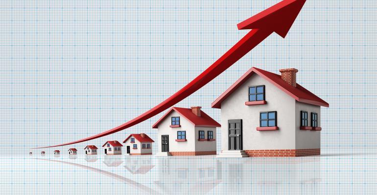 houses graph