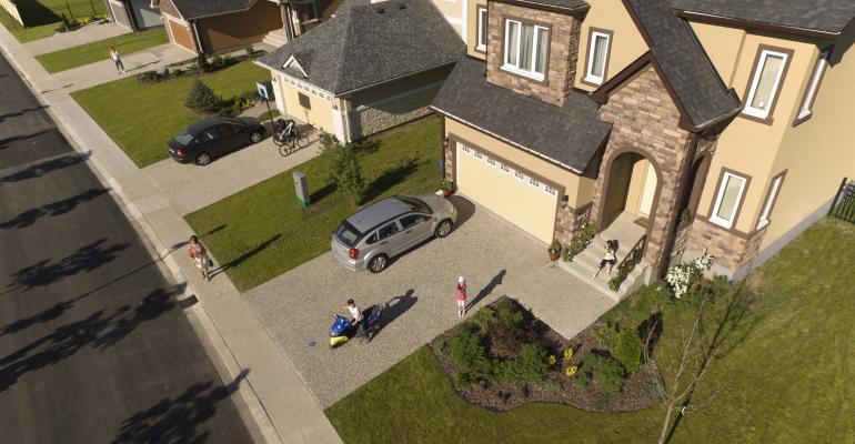 single family homes with neighbors