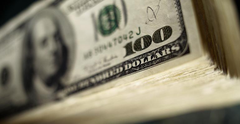 stock of money $100 bills