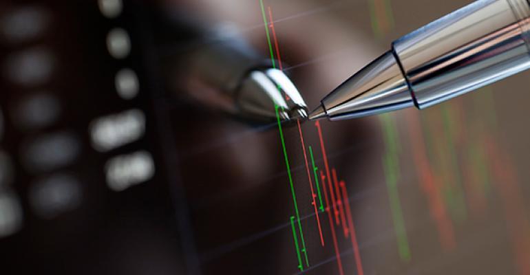 stock data graph