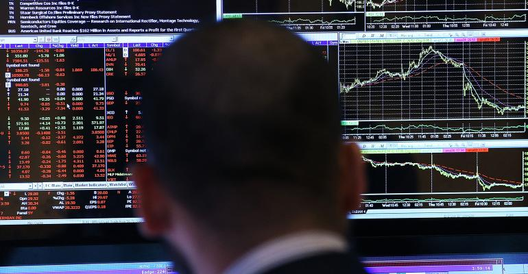 stock market charts earnings reports