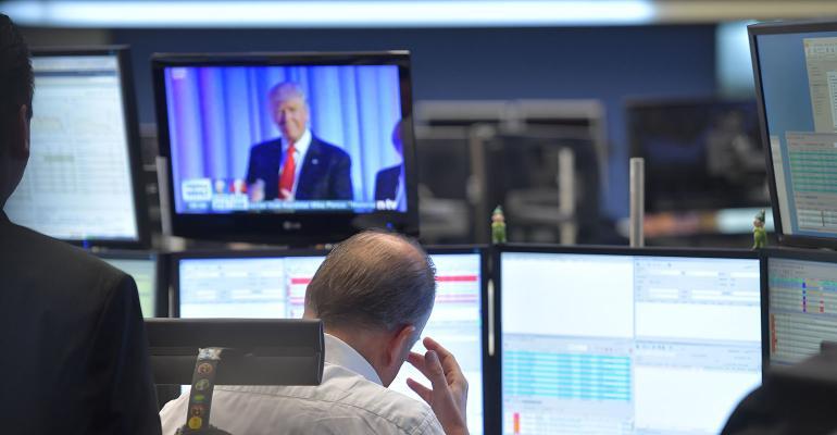 Stock market trump election