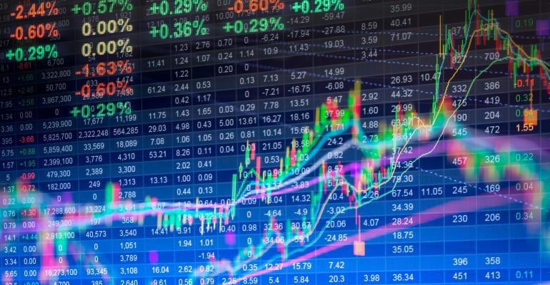 stock market prices data
