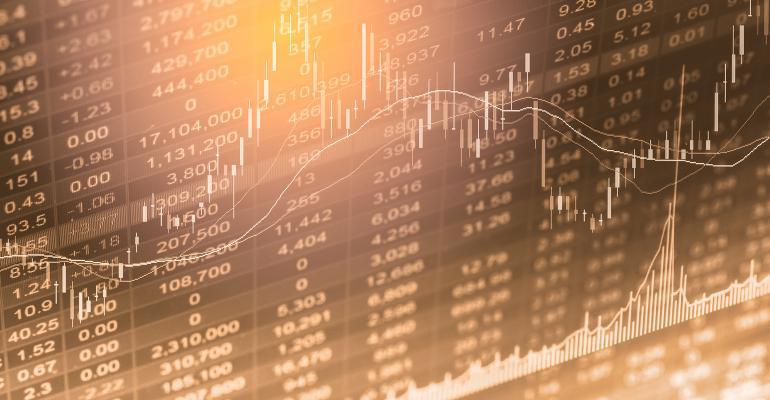 stock market prices graphs