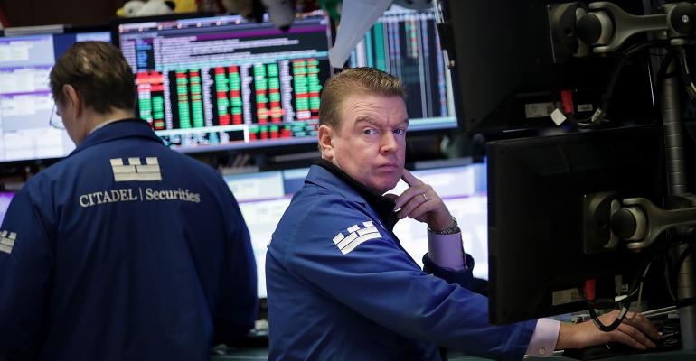 stock market traders NYSE
