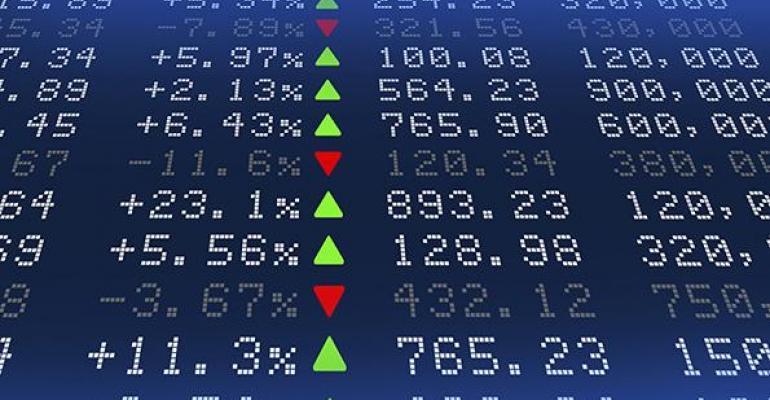 stock prices rising
