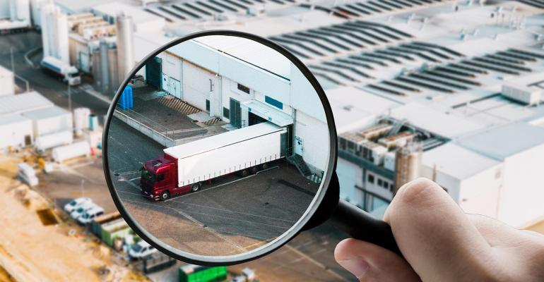 magnifying glass truck