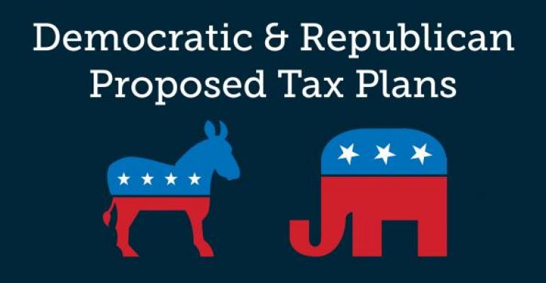 Democratice & Republican Propsed Tax Plans