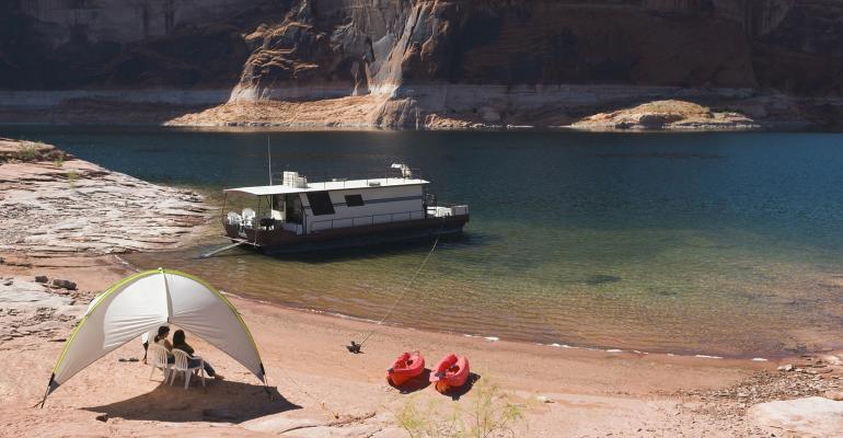 houseboat tent utah