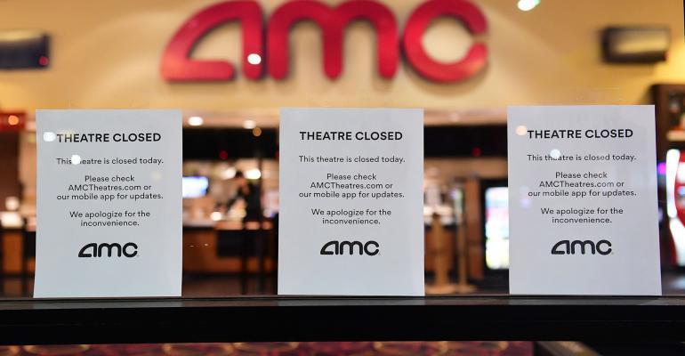 AMC theater closed