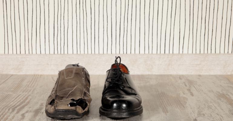 rich vs poor shoes