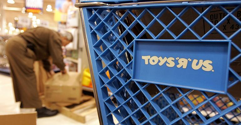 Toys R Us shopping cart