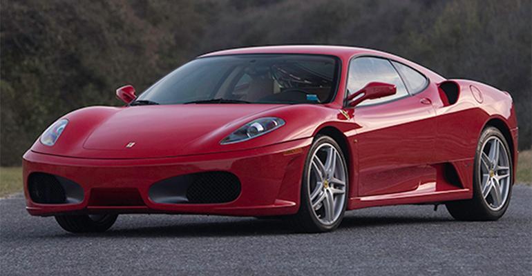 Trump Ferrari