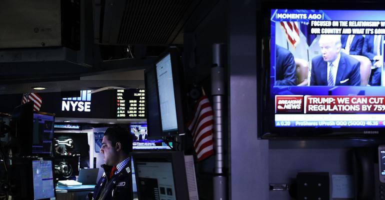 Trump stock market NYSE