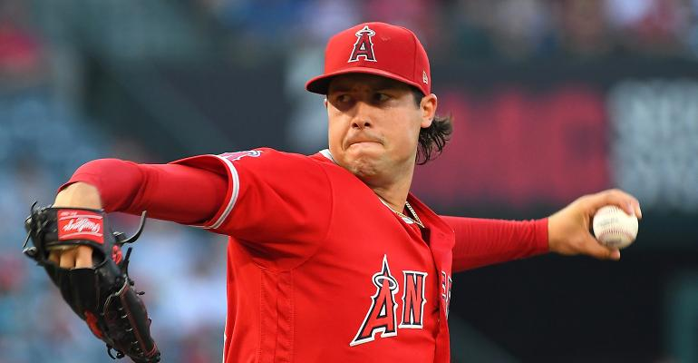 Tyler Skaggs Angels