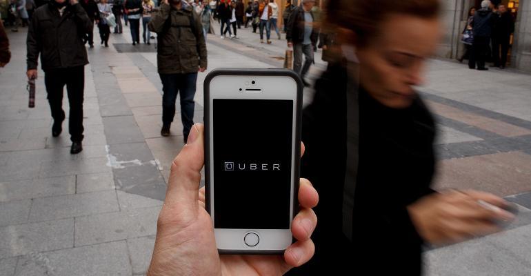 Uber phone app