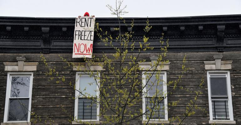 cancel rent banner