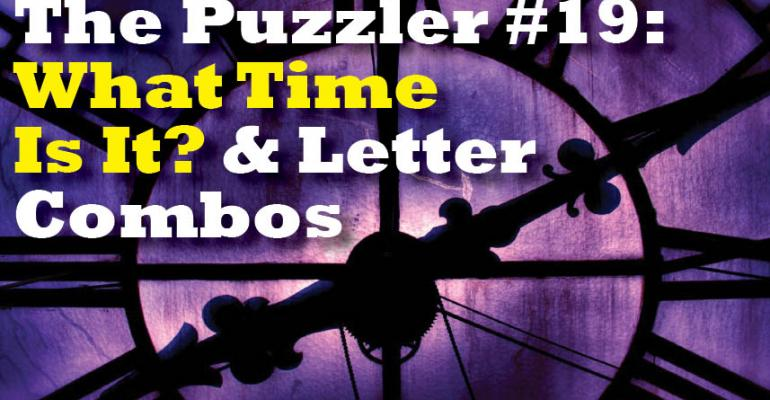 The Puzzler #19
