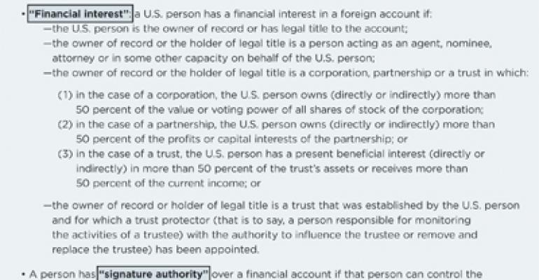 How to Determine Whether You Need to Report Your Foreign Accounts (FBAR)
