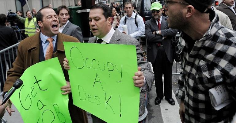 Barred Broker Starts Anti-Occupation Movement