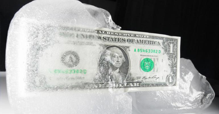 Frozen Cash Value Life Insurance