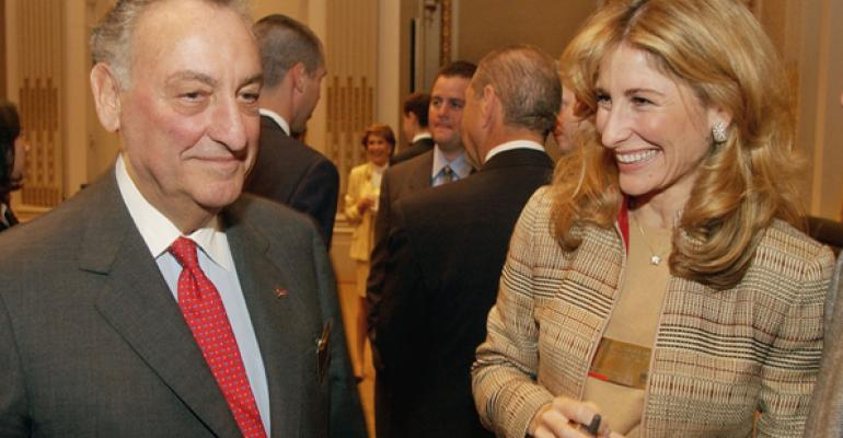 NFP39s CEO Jessica Bibliowicz with her father Sandy Weill who created Citigroup