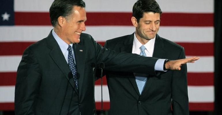 Ryan, Romney on Different Pages on Wall Street Reform