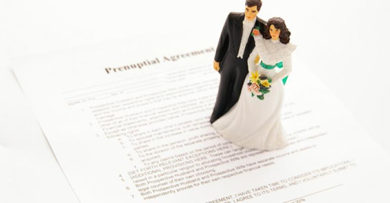 Unanticipated Estate Tax Consequences of Pre-Nups