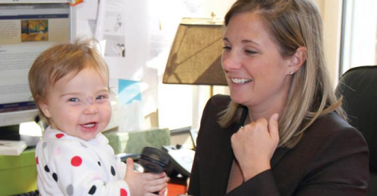 Jennie DevlinPresident and COO and mother of Eva Thorsell born October 2011 Cantella amp Co