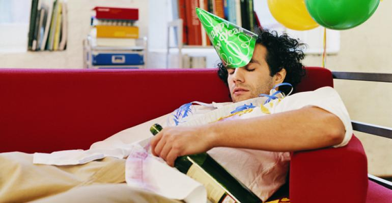 Millionaires: Party Poopers on New Year's Eve